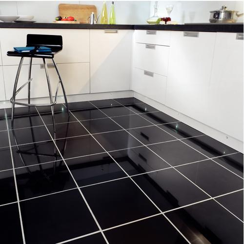 Black and White Flooring